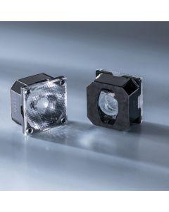 Ledil Lens FCA15007_G2-ROSE-UV-SS 12-15 deg for Nichia UV LED NVSU233A and Powerbar V3 365, 385nm UV