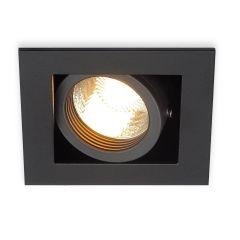 Ceiling lamp SLV Kadux 1 Gu10 Recessed Spot Black