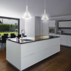 Pendant lamp IDEAL LUX Cocktail Sp1 Big Bianco E27