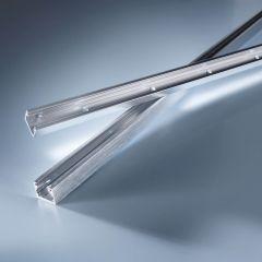 Aluminum profile Alumax 60cm chrome for Multibar LED strips 50cm