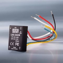 Constant current LED driver Mean Well LDD-700H IP67 700mA 9-56VDC to 2 > 52VDC