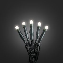 LED Chain of Lights warm white 10m (100 LEDs), Frozen Effect