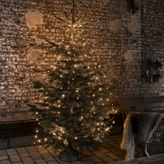 LED Tree Coat amber, 8 strings of 4m (50 LEDs each) with Glimmer Effect