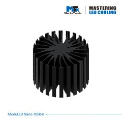 MechaTronix Heat Sink round 7cm MODULED NANO 7050-B for LED <4000lm