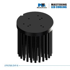 MechaTronix Heat Sink round 7cm LPF6768-ZHP-B for LED <4600lm