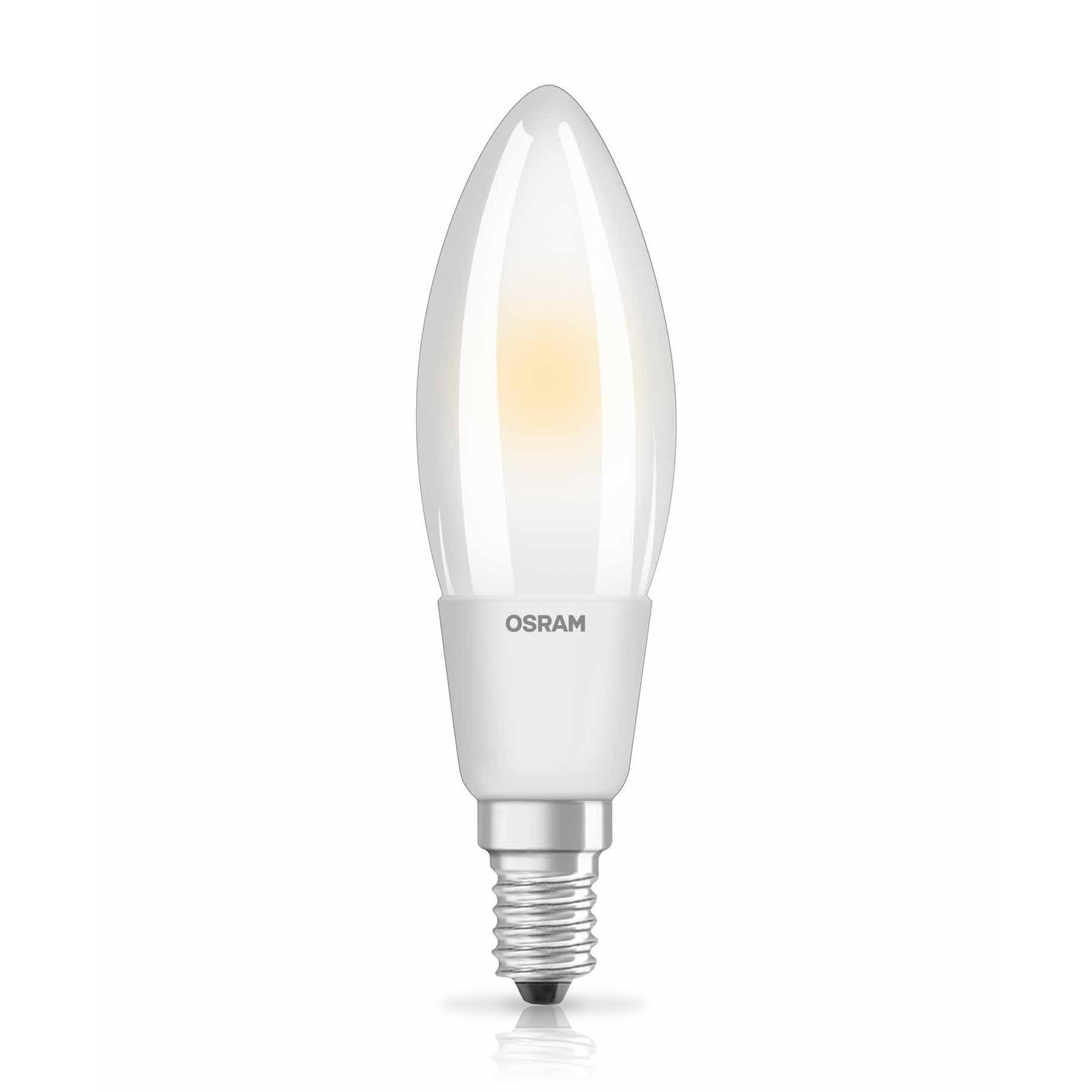 LED Bulb Osram LED SUPERSTAR RETROFIT FR DIM CLB 50 5W 827 E14 2700K 640lm