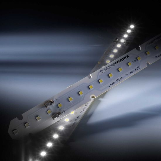 LinearZ 26 Nichia LED Strip Zhaga Optisolis CRI98+ neutral white 5000K 752lm 175mA 37.5V 26 LEDs 28cm module (2686lm/m and 24W/m)