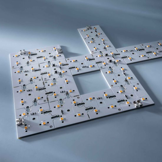 ConextMatrix Power Supply Module 4 warm white LEDs 118lm 4x4 cm 24V CRI 90 118lm 0.89W