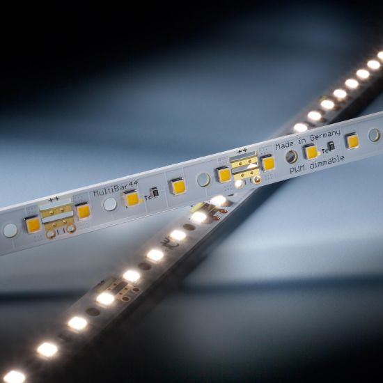 Multibar44 Nichia LED Strip neutral white CRI90 4000K 763lm 24V 44 LEDs 50cm bar (1526lm/m and 12.94W/m)