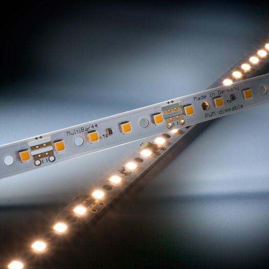 Multibar44 Nichia LED Strip warm white CRI90 3000K 732lm 24V 44 LEDs 50cm bar (1464lm/m and 12.94W/m)