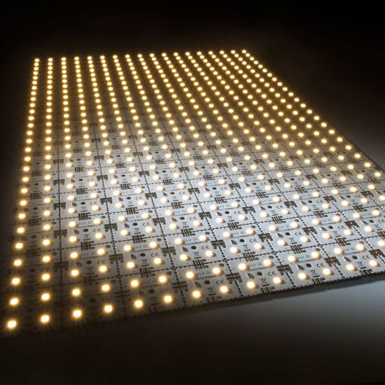 Nichia LED Backlight Module Matrix Mini 126 segments (9x14) 504 LEDs 24V White 2700K 60.5W 8610lm