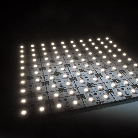 Nichia LED Backlight Module Matrix Mini 25 segments (5x5) 100 LEDs 24V White 4000K 12W 1885lm