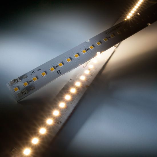 Maxline35 Nichia LED Strip warm white 3000K 1040lm 24V 35 LEDs 28cm module (3715lm/m and 30W/m)