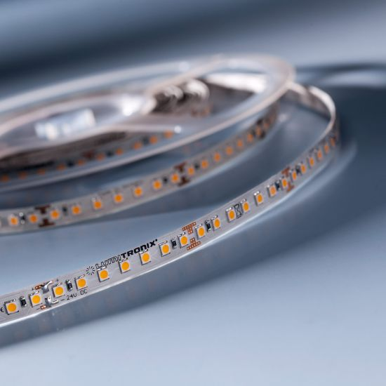 LumiFlex700 Economy LED Strip warm white 2700K 3900lm 24V 140 LEDs/m 5m roll (780lm/m and 9.6W/m)