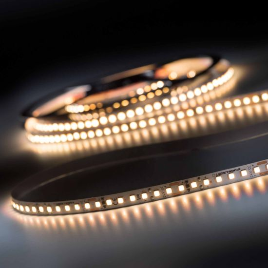 LumiFlex700 Pro Nichia LED Strip warm white CRI90 2700K 11400lm 24V 140 LEDs/m 5m roll (2280lm/m and 19.2W/m)