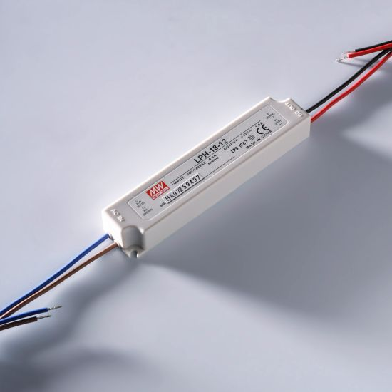 Constant Current LED Driver Mean Well LPC-20-350 IP67 350mA 9 > 48V