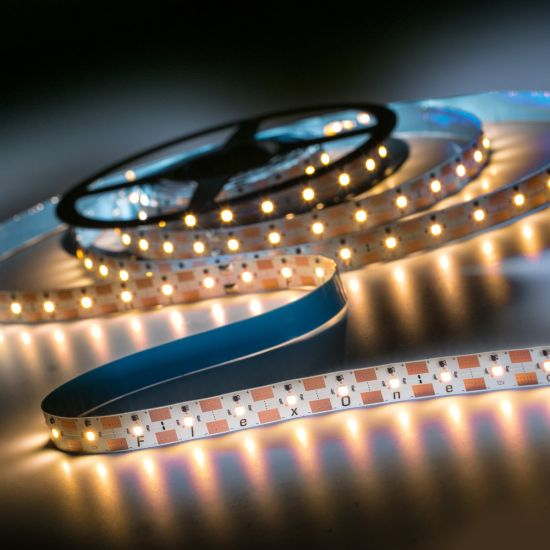 FlexOne250 Performer Samsung LED Strip warm white 2700K 11825lm 12V 50 LEDs/m 5m roll (2365lm/m and 30W/m)
