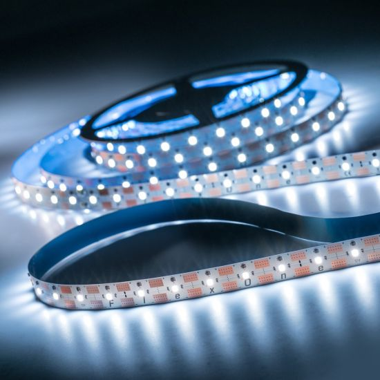 FlexOne250 Performer Samsung LED Strip cold white 6500K 12875lm 12V 50 LEDs/m 5m roll (2575lm/m and 30W/m)