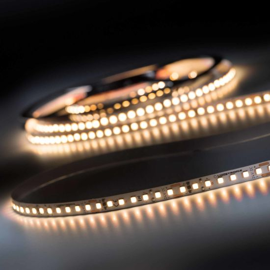 LumiFlex700 Pro Toshiba-SSC LED Strip Sunlike CRI97 warm white 2700K 8170lm 24V 140 LEDs/m 5m roll (1634lm/m and 19.2W/m)
