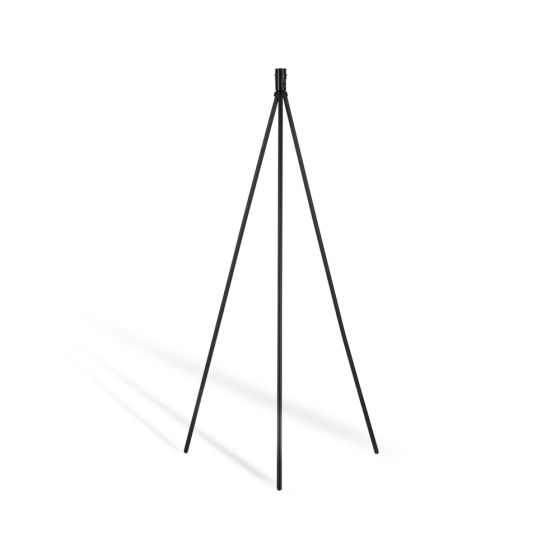 SLV Fenda Floor Lamp, Without Shade, black