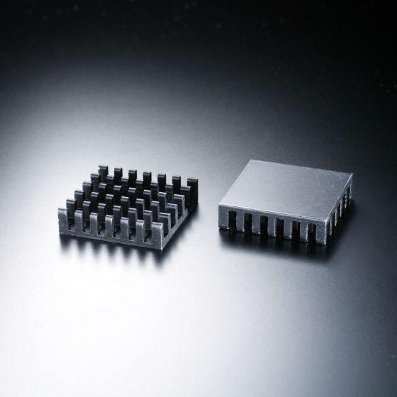 Heatsink square 23x23mm for LED <150 lm