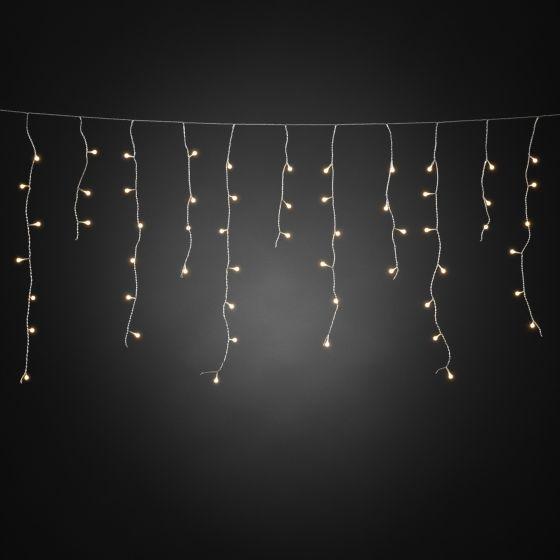 LED ice drop light cutrain, 400 warmwhite LEDs