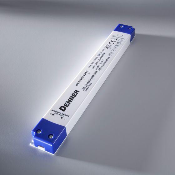 Power Supply Dehner LED 12V30W-MM-SLIM slim 1.2.A 24V 30W