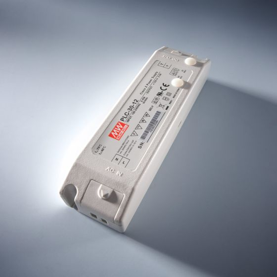 Constant Voltage Power Supply Mean Well PLC-30-24 IP20 230V to 24V 1.25A 30W