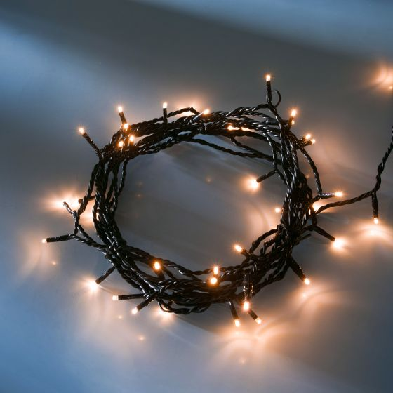 LED fairy light (rope)  warmwhite, 16m (40 LEDs)
