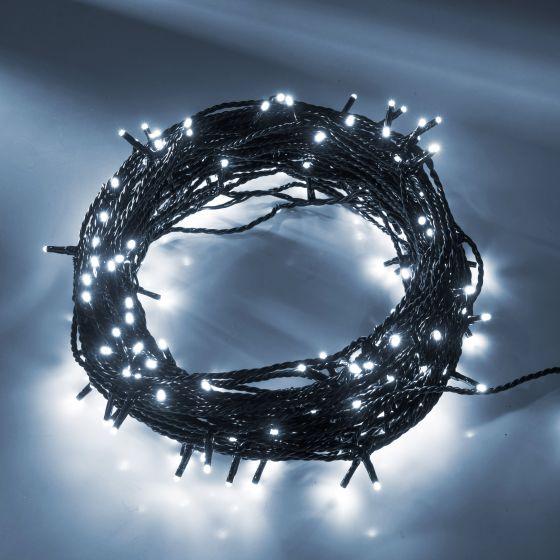 LED fairy light (rope)  white, 41m (200 LEDs)