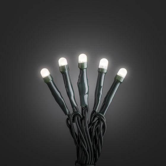 LED Chain of Lights warm white 6m (50 LEDs), Frozen Effect