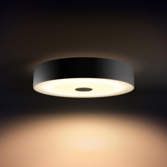 Philips Hue White Ambiance Fair LED Ceiling Light black 3000lm Dimmer Switch