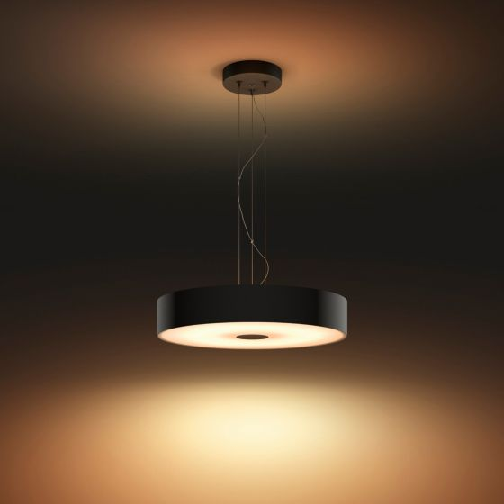 Philips Hue White Ambiance Fair LED Pendant Light black 3000lm Dimmer Switch