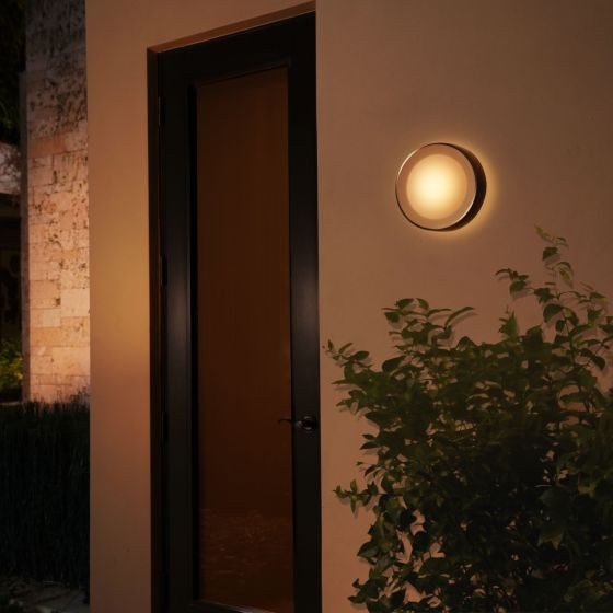 Philips Hue White and Color Ambiance LED Wall Light Daylo black 1050lm