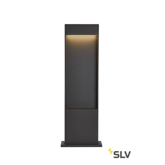 SLV FLATT POLE 65 FL 3000/4000K IP65 Outdoor LED Path Light anthracite 400lm 3000K
