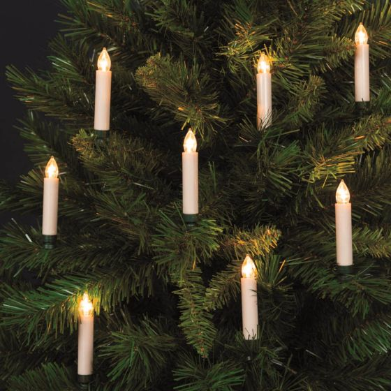 LED tree light, with remote, 10 candles