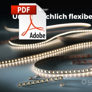Catalog FlexOne flexible LED strips
