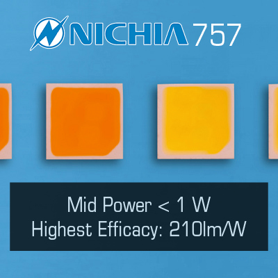 Nichia 757 LEDs