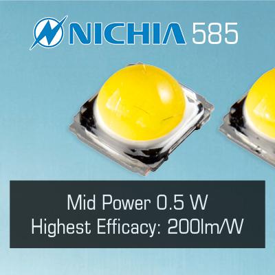 Nichia 585 LEDs