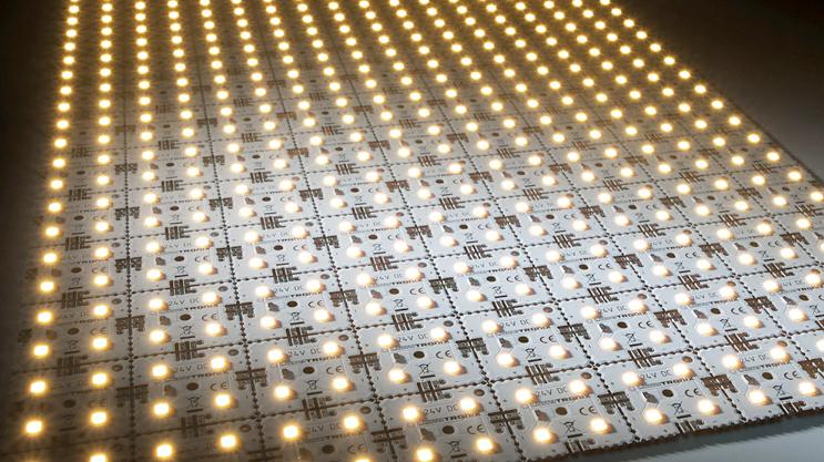 LED Matrix Mini, bright light for wide areas.