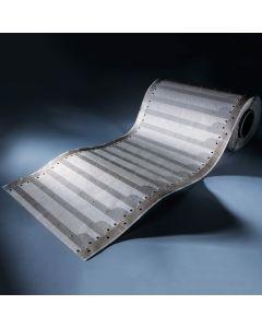 Paper-Flex Osram LED Strip 24.85m length 3479 LEDs warm white 2700K 24V 35cm wide (1100lm/m & 140 LEDs/m)