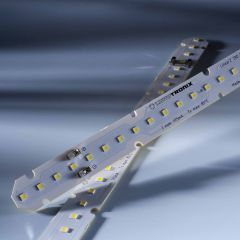 LinearZ 26 Nichia LED Strip Zhaga Optisolis CRI98+ cold white 6500K 740lm 175mA 37.5V 26 LEDs 28cm module (2643lm/m and 24W/m)