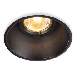 Ceiling lamp SLV Horn T Gu10 Recessed Spot Black