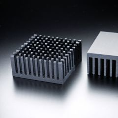 Heatsink square 38x38mm for one High-Power LED max. 2 Watt