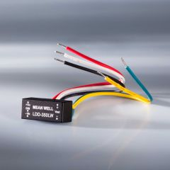 Constant current LED driver Mean Well LDD-LW-350 IP67 350mA 9-36VDC to 2 > 32VDC