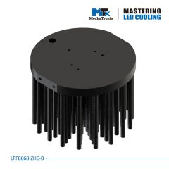 MechaTronix Heat Sink round 11cm LPF11180-ZHE-B for LED <9600lm