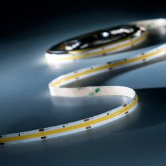 LumiFlex COB LED Strip with continuous light warm white CRI90 2700K 5690lm 24V 5m roll (1121lm/m and 10W/m)
