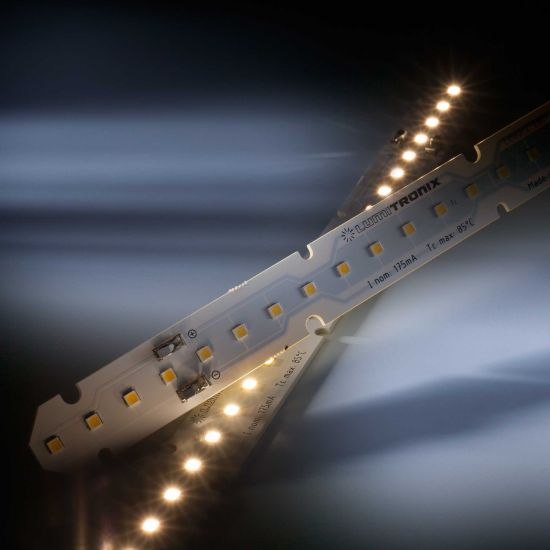 LinearZ 26 Nichia LED Strip Zhaga warm white 3000K 1060lm 175mA 37.5V 26 LEDs 28cm module (3786lm/m and 24W/m