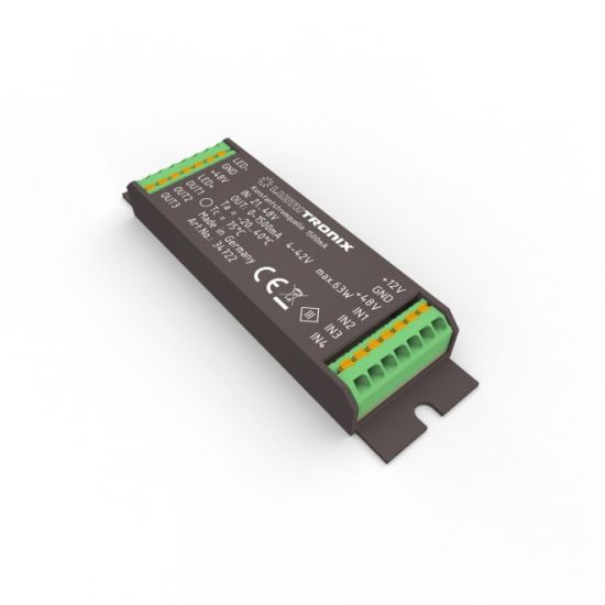 Constant Current LED Driver LUMITRONIX 21-48V input to 1>1500mA 4-42V DIM  for the PowerController V2