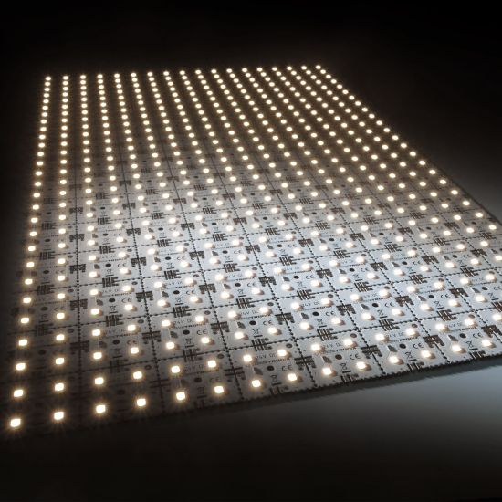 Nichia LED Backlight Module Matrix Mini 126 segments (9x14) 504 LEDs 24V White 4000K 60.5W 9500lm